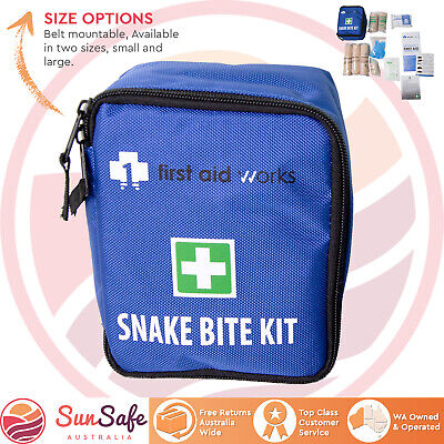 Snake Bite First Aid Kit Belt Mount First Aid Works Small or Large First Aid Kit