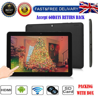 """10.1"""" Inch Tablet PC HD 32GB Android 6.0 Dual Camera Quad-core Google OTG WIFI"""