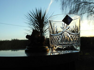 """Edinburgh Crystal  BEAULY  3 1/4"""" OLD FASHIONED WHISKY glass OR glasses ( 1st )"""