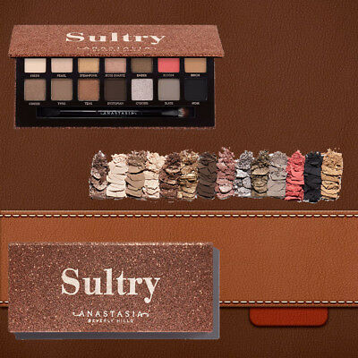 Anastasia Beverly Hills SULTRY Eyeshadow Palette New colors 2018