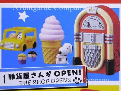 Re-Ment Peanuts Snoopy American Zakka! The Shop Opens New 100% Real Box Opened