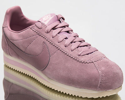 the latest 526cf 58694 Nike Wmns Classic Cortez Suede Womens Shoes Women Elemental Rose AA3839-600