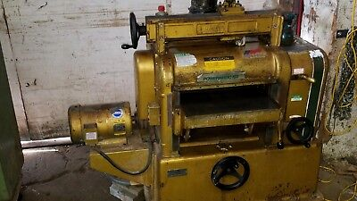 "Powermatic Model 180 5 HP 3 Phase 18"" Planer Will Ship"