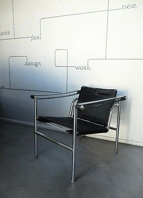 Chaise Vintage 1960 LC1 Le Corbusier Jeanneret Perriand Cassina Chair