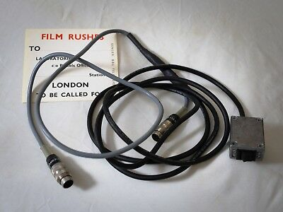 Bolex Power Cable & Vintage BBC Sticker