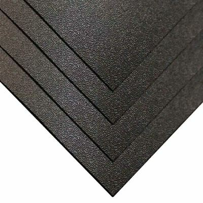 ABS Haircell sheet Black 2mm Vac-Form Sheet CUT To Size FREE Shipping