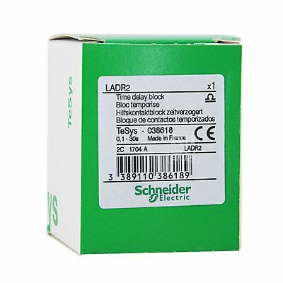 Schneider LADR2 Time Delay Block 0.1-30s New in box *SHIP TODAY*