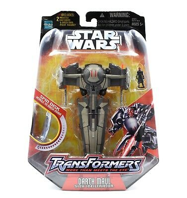 Star Wars Transformers - Darth Maul Sith Infiltrator Action Figure