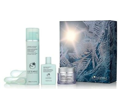 LIZ EARLE Every Day Radiant Trio Set: Cleanse & Polish Instant Boost Super Skin