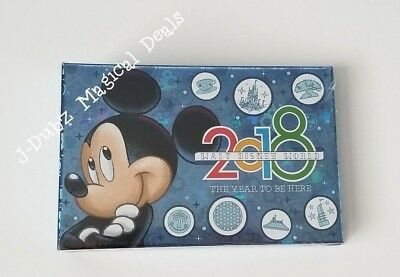 NEW 2018 Official Disney Parks Mickey Mouse Walt Disney World Small Photo Album