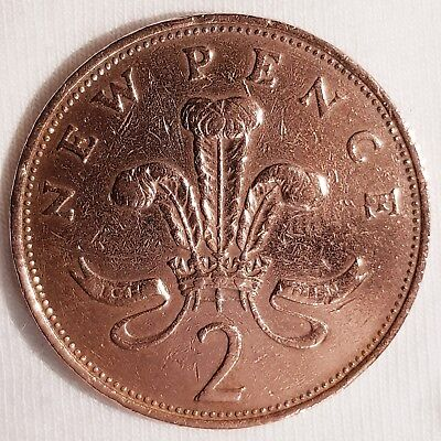 Collectable 2p New Pence coin 1971 - (Two Pence Pre 1981) Circulated - Free P&P