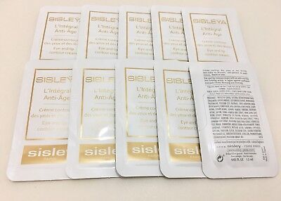 Sisley Sisleya L'Integral Anti-Age Eye And Lip 10x1,5ml=15ml Muestras Samples