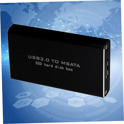 LS-721M USB 3.0 TO MSATA SSD Hard Disk Box For 3060/3042 Storage With Cable ER