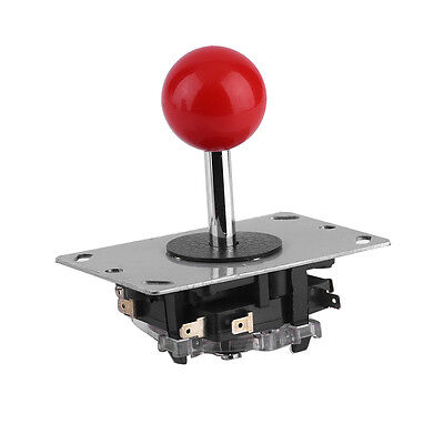 Classic 4/8 way Arcade Game Joystick Ball Joy Stick Red Ball Replacement Eb