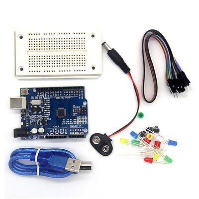 One Compatible Set Kit Profesional UNO For Arduino UNO R3 fk