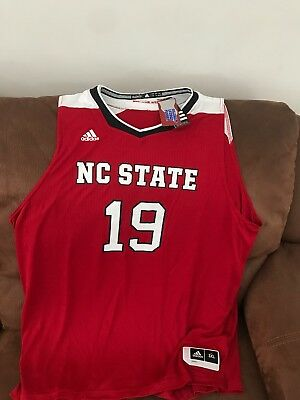 eedb2a1cb3d ADIDAS NC STATE Ncaa Basketball Jersey NWT Size 3XL Mens -  69.99 ...