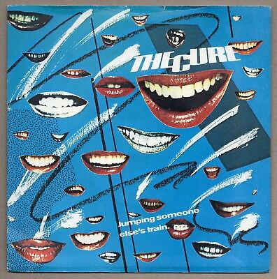 """THE CURE Jumping Someone Else's Train 7"""" FICTION 1979 UK orig FICS 005 SIOUXSIE"""