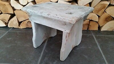 Antique Original Rustic Milking Stool Sturdy and Strong