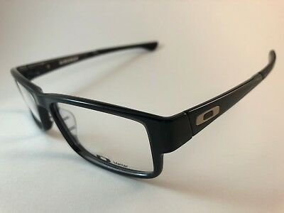 New Authentic Oakley Eyeglasses OX 8046 0257 Airdrop black ink w pouch
