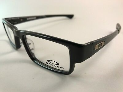 New Authentic Oakley Eyeglasses OX 8046 0253 Airdrop black ink w case & pouch