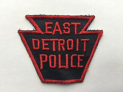 East Detroit MICHIGAN Police Patch