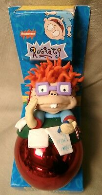 Rugrats Chuckie Christmas cookie ornament 1998 Letter to Santa Nickelodeon NIB