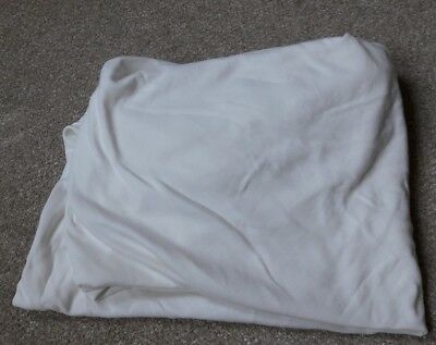 Mamas and Papas Cream Fitted Sheets to fit Cotbed