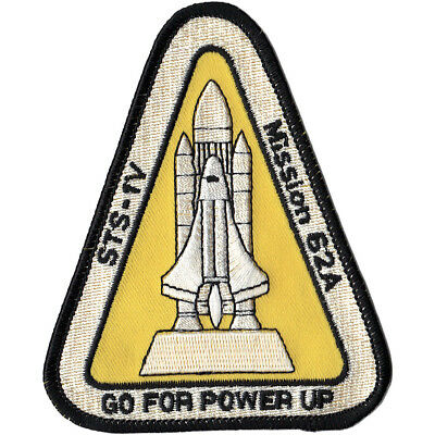 SP-397J NASA Go For Power Up STS-1V Patch