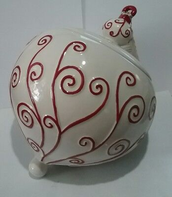Real Home  Christmas  Ornament  Canister Cookie Jar