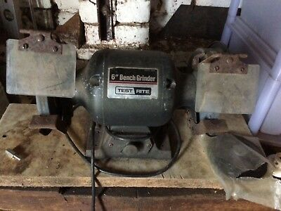 "Test Rite 6"" bench grinder"