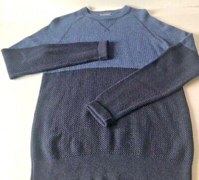 Comme Tommy Bleu Laine Maille M Hilfiger Neuf Pull Taille wx7xqU4O0