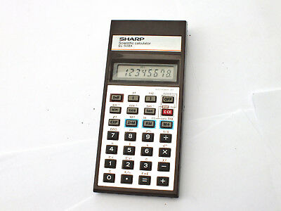 Vintage  SHARP EL-508A  Scientific Calculator   JAPAN  1975