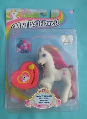 My little pony WHITE PEARL coquine perle nacrée petit poney hasbro