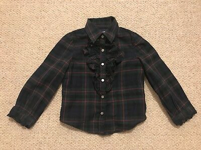 Ralph Lauren Tartan Shirt Classic 18-24m 2y Baby Girl Red Green Christmas Party
