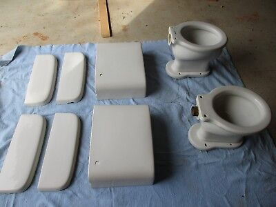 antique/vintage American standard toilets wall mount (2)