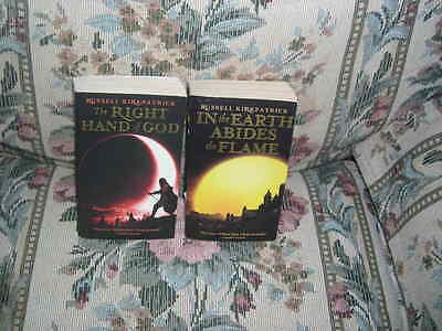 Russell Kirkpatrick Right Hand of God In The Earth Abides the Flame 2 book lot