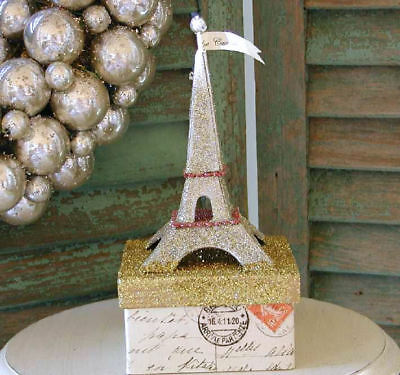CODY FOSTER Lovely ~EIFFEL TOWER CANDY BOX~ Retired & NWT