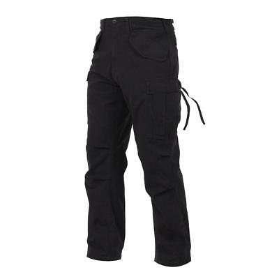 Field Pants Black Vintage M-65 Tactical Military Field Fatigue Pants Rothco 2644