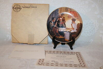 Norman Rockwell Collector Plate THIS IS THE ROOM THAT LIGHT MADE Light Campaign