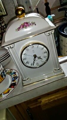 PS Quartz ceramic mantle clock
