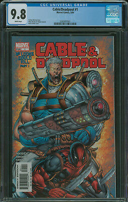 Cable & Deadpool #1 CGC 9.8 Rob Liefeld cover 2004 series