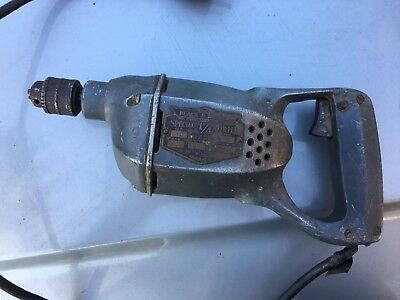 "Rare Working Antique Black & Decker Special 1/4"" Drill a Vintage Beauty"