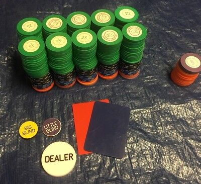 Deluxe Poker Chip Set-Designed for Tournament Play-10 Players-10,000 in ChipPlay