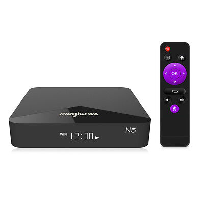 MAGICSEE N5 4K HD Smart TV Box Max 2GB / 16GB Media Player 100Mbps Android 7.1.2