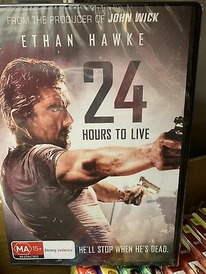 24 Hours to Live DVD Region 4 NEW