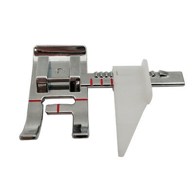 Domestic Guide Sewing Machine Foot Presser For Brother Singer Low Shank Snap-On