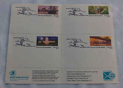 Lot of Postal Stamp/Postcard Collection from the 1980's/1990's - Take A Look!!!