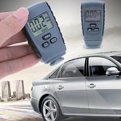 Small Digital Auto Car Paint Coating Thickness Gauge Meter Tester Measuring Tool