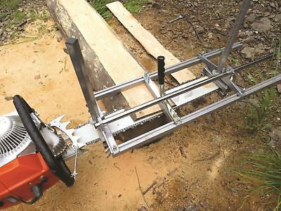 """36 Inch Holzfforma Portable Chainsaw mill Planking Milling 14"""" to 36"""" Guide Bar"""