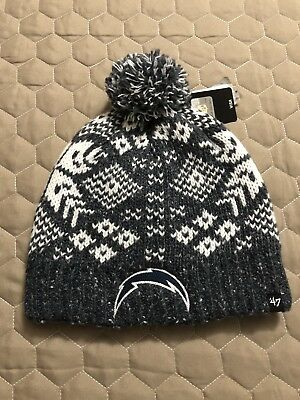 LOS ANGELES CHARGERS '47 Brand Women's Knit Winter Hat NWT c6014b9e54f